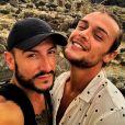 Michal et son mari Maxim, sur Instagram, en septembre 2019.