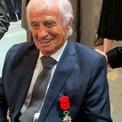 Jean-Paul Belmondo décoré à l'Elysée, Jean Dujardin en admiration