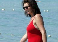 Cécilia Attias, 51 ans et toujours au top, se ressource à la plage... avec son mari Richard et ses enfants !