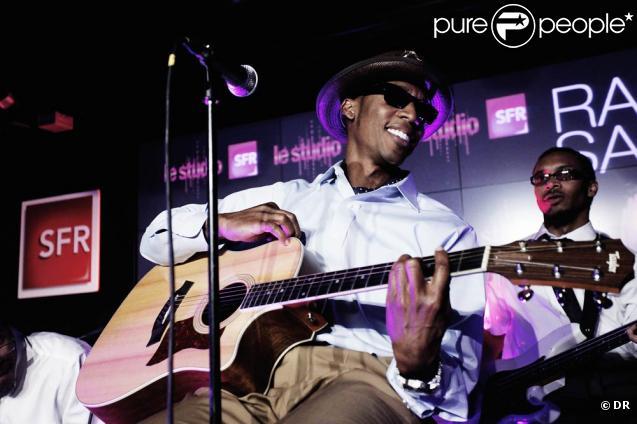 Raphael Saadiq en concert au Studio SFR le 8 juillet 2009