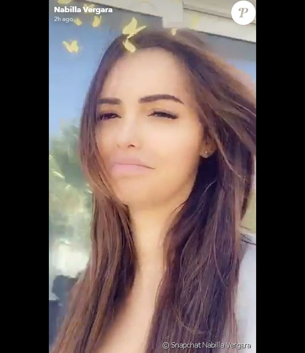 Nabilla et Thomas sur Snapchat - 12 novembre 2019 - Dubaï