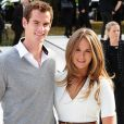 Andy Murray et Kim Sears à un défilé Burberry en septembre 2012 à Londres.