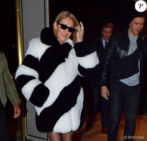 Exclusif - Céline Dion va diner avec Pepe Munoz, à New York, le 13 novembre 2019.
