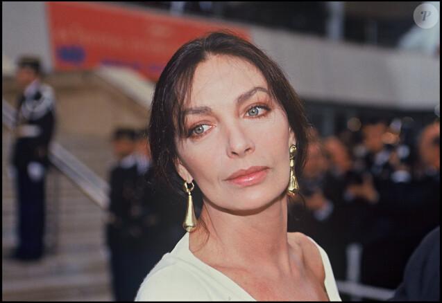 Archives - Marie Laforêt au Festival de Cannes. Le 13 mai 1991.