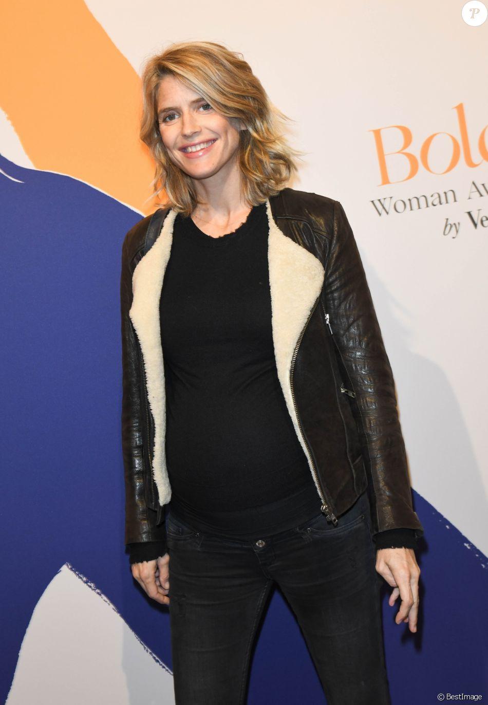 Semi-exclusif - Alice Taglioni (enceinte) - Remise des Bold Woman Awards by Veuve Clicquot au 3 Mazarine à Paris le 14 novembre 2019. © Coadic Guirec/Bestimage14/11/2019 - Paris