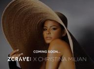 Christina Milian enceinte : topless pour annoncer son nouveau projet mode