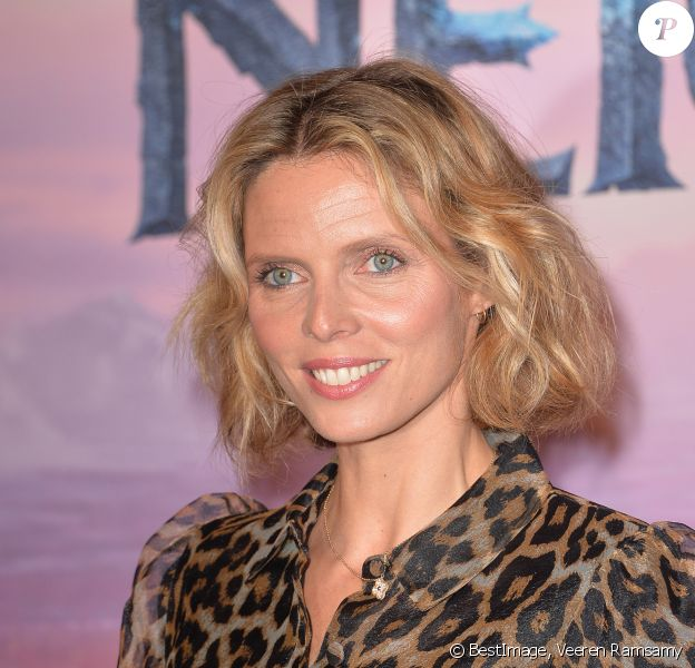 "Sylvie Tellier - Projection exceptionelle de ""La Reine des Neiges 2 "" au Grand Rex à Paris le 13 novembre 2019. © Veeren Ramsamy/Bestimage"