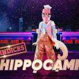 """Portrait et performance de l'Hippocampe, personnage de """"Mask Singer"""", sur TF1."""