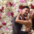 Photos du premier mariage d'Ali et Alia, sur Instagram, le 14 juillet 2018.
