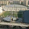 Vue du stade Vélodrome après le drame du 16 juillet 2009