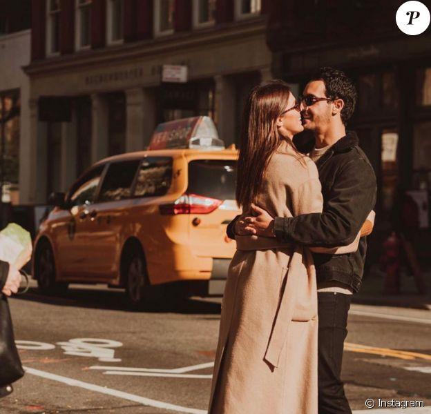 Iris Mittenaere et Diego El Glaoui le 22 novembre 2019 sur Instagram.