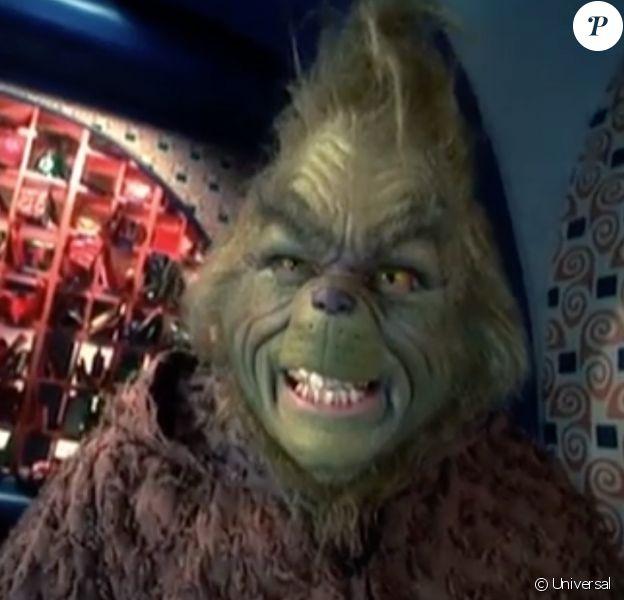 """Jim Carrey dans la bande-annonce du film """"Le Grinch"""", de Ron Howard. 2000."""