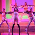 Selena Gomez anime la 47ème soirée annuelle des American Music Awards au Microsoft Theatre à Los Angeles, le 24 novembre 2019.