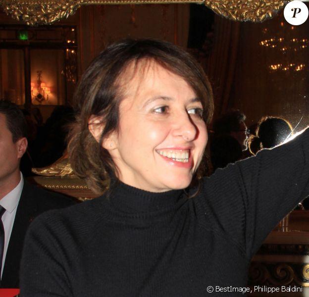 """Valérie Bonneton - Soirée de lancement du film de l'association """"Coucou Nous Voilou"""" à l'hôtel Le Meurice à Paris le 18 novembre 2019. © Philippe Baldini/Bestimage"""
