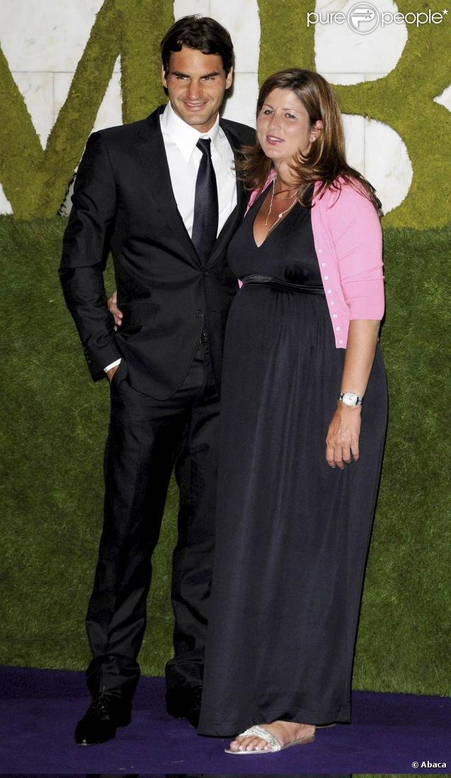 Roger Federer et sa femme Mirka... parents de jumelles !