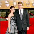 """Laura Leighton et Doug Savant - 13e """"Screen Actors Guild Awards"""" au Shrine Auditorium. Los Angeles. Le 28 janvier 2007."""