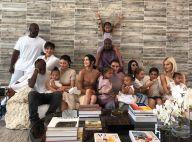 Les Kardashian en famille : tendres photos avec les enfants et grosse dinde