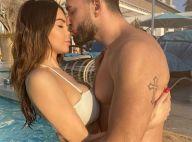 Nabilla : Divine en bikini, elle fait craquer Thomas sur la plage de Dubaï