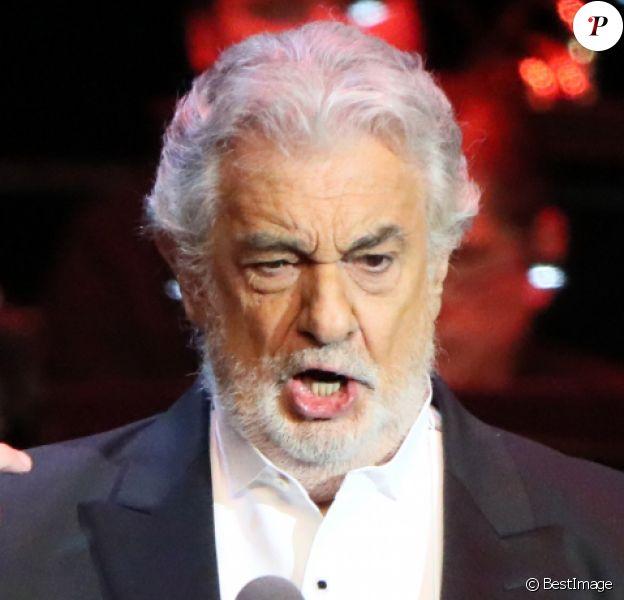 Placido Domingo en concert à Moscou, le 17 octobre 2019