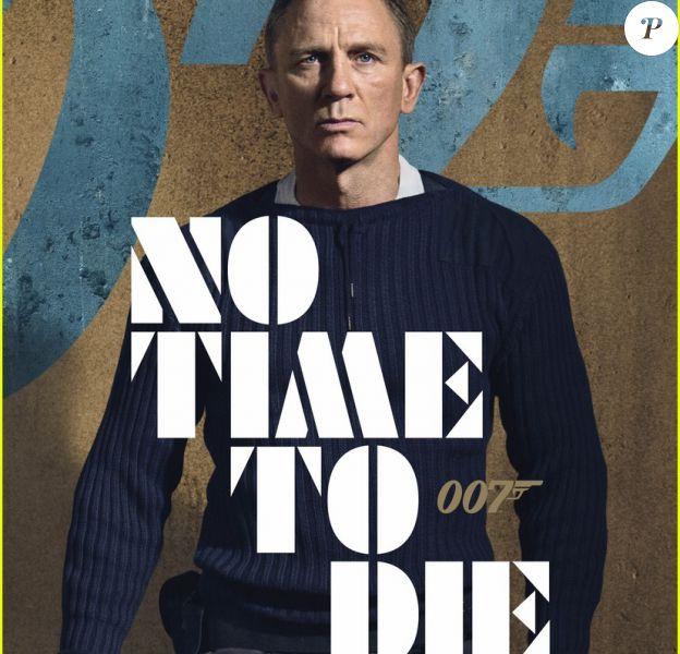 """L'une des nouvelles affiches du film """"Mourir peut attendre"""" en salles le 8 avril 2020."""