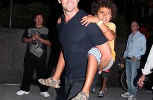 Hugh Jackman n'est pas que l'homme le plus sexy du monde... c'est décidément un papa modèle !