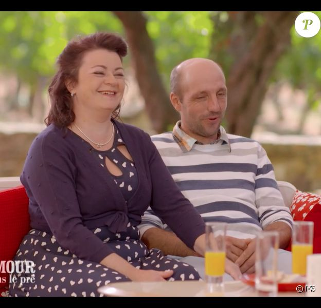 """Maud et Laurent dans le bilan de """"L""""amour est dans le pré 2019"""", le 9 décembre 2019 sur M6."""
