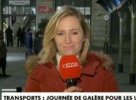 Une journaliste de CNews embrassée par surprise en direct, la séquence choc
