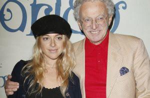 Nelson Monfort avec sa femme, sa fille et son chéri César au spectacle Corteo