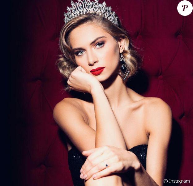 Florentine Somers, Miss Nord-Pas-de-Calais sur Instagram le 4 décembre 2019.