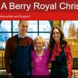 La duchesse Catherine de Cambridge et le prince William ont participé à un programme d'une heure avec Mary Berry, A Berry Royal Christmas, qui mettra en lumière l'action d'associations qu'ils soutiennent et la préparation d'un repas de Noël pour les remercier, qui sera diffusé sur BBC1 le 16 décembre 2019.