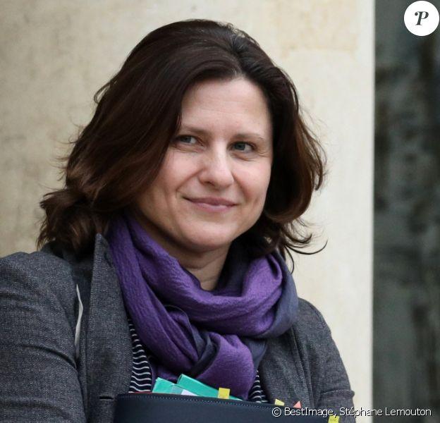Roxana Maracineanu, ministre des sports à la sortie du conseil des ministres du 5 décembre 2019 au palais de l'Elysée à Paris. © Stéphane Lemouton / Bestimage