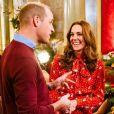 """Kate Middleton et le prince William dans l'émission """"A Berry Royal Christmas"""" diffusé sur BBC One le 16 décembre 2019."""