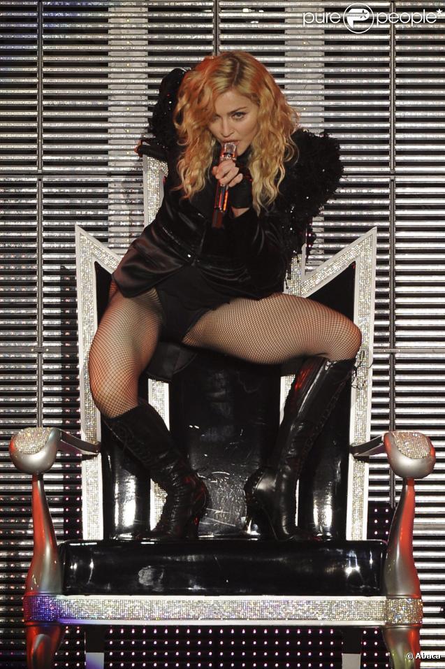 Madonna en concert à Paris le 9 juillet 2009