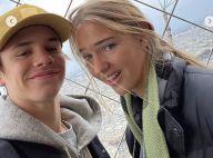 Romeo Beckham : Le fils cadet de David et Victoria Beckham, amoureux à Paris