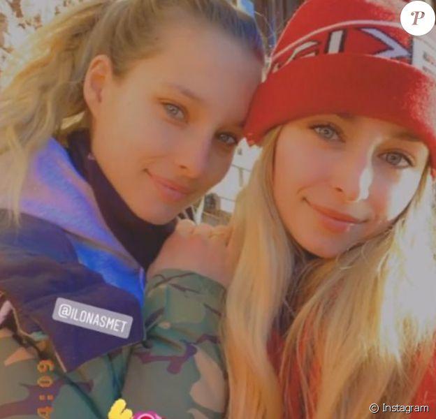 Emma et Ilona Smet le dimanche 29 décembre 2019.