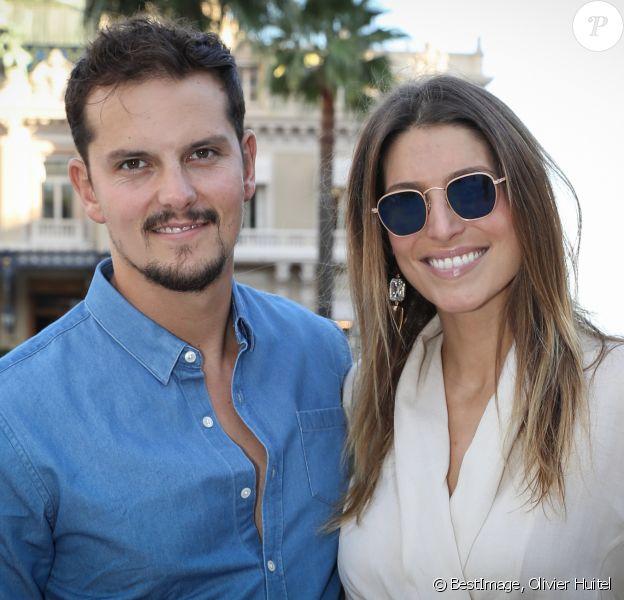 Juan Arbelaez et sa fiancée Laury Thilleman - Personnalités sur la place du Casino de Monte-Carlo dans le cadre de la seconde édition des Influencer Awards à Monaco, le 5 octobre 2019. © Olivier Huitel / Pool Monaco / Bestimage