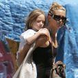 Kate Hudson et son fils Ryder dans les rues de New-York le 30 juillet 2009