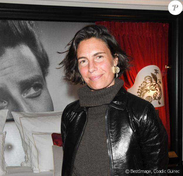 Alessandra Sublet - Inauguration de la Suite Harcourt de l'Hôtel Barrière Le Fouquet's à Paris le 26 novembre 2019. © Coadic Guirec/Bestimage