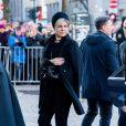 La princesse Laurentien des Pays-Bas arrivant aux obsèques d'Ari Behn, le 3 janvier 2020 à la cathédrale d'Oslo en Norvège. Ecrivain, artiste visuel et ex-époux de la princesse Märtha Louise de Norvège, mère de leurs trois filles, Ari Behn s'est donné la mort au moment de Noël.