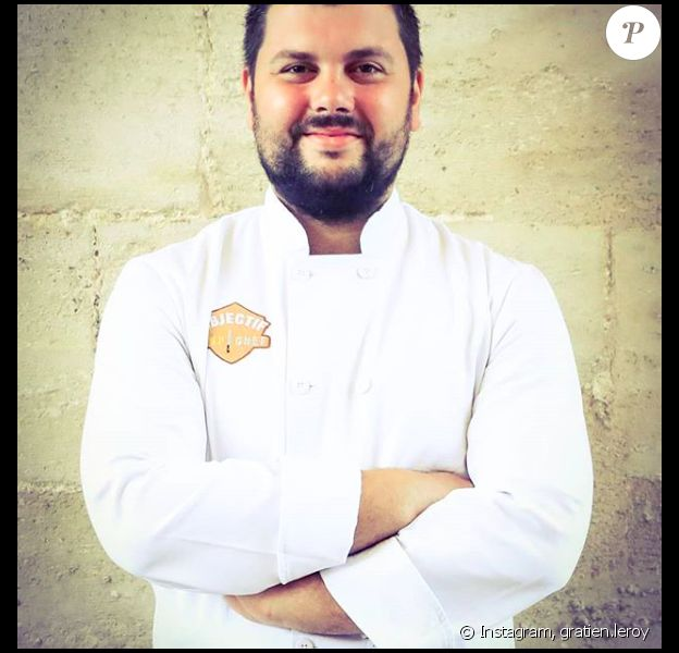 """Gratien Leroy, vainqueur de l'émission """"Objectif Top Chef"""" sur Instagram."""