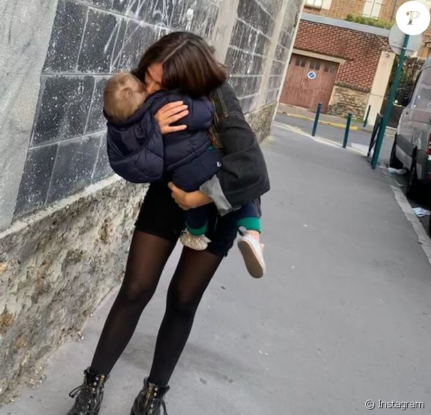 Izia Higelin et son fils, sur Instagram.