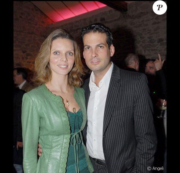 Sylvie Tellier et son époux Camille