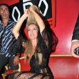 Patrizia d'Addario au Globo le 31 juillet 2009