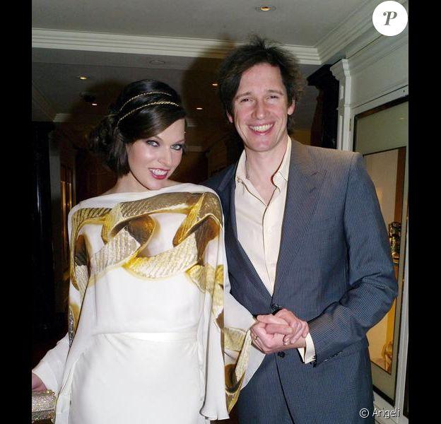 Milla Jovovich et Paul W.S. Anderson