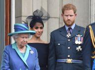 """Elizabeth II """"furieuse, déçue et blessée"""" par l'annonce choc de Meghan et Harry"""