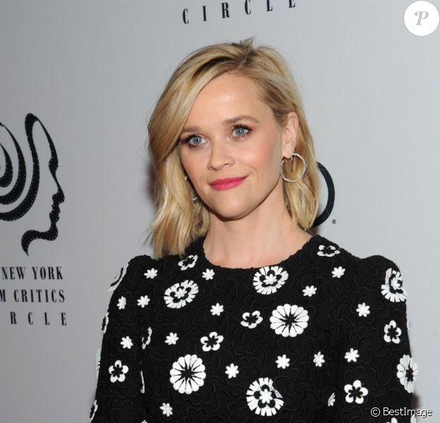 """Reese Witherspoon - Les célébrités assistent à la cérémonie des """"NY Film Critics Circle Awards"""" à New York, le 7 janvier 2020."""