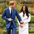 Meghan Markle et le Prince Harry renoncent à leur   statut de membres de premier rang de la famille royale britannique le 9 janvier 2020.