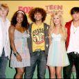 Lucas Grabeel, Monique Coleman, Corbin Bleu, Ashley Tisdale, Zac Efron et Vanessa Hudgens - Teen Choice Awards 2006. Los Angeles. Le 20 août 2006.