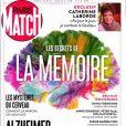 """Couverture du hors-série de """"Paris Match"""" consacré aux secrets de la mémoire."""