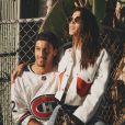 Iris Mittenaere et Diego El Glaoui sur Instagram le 1er janvier 2020.